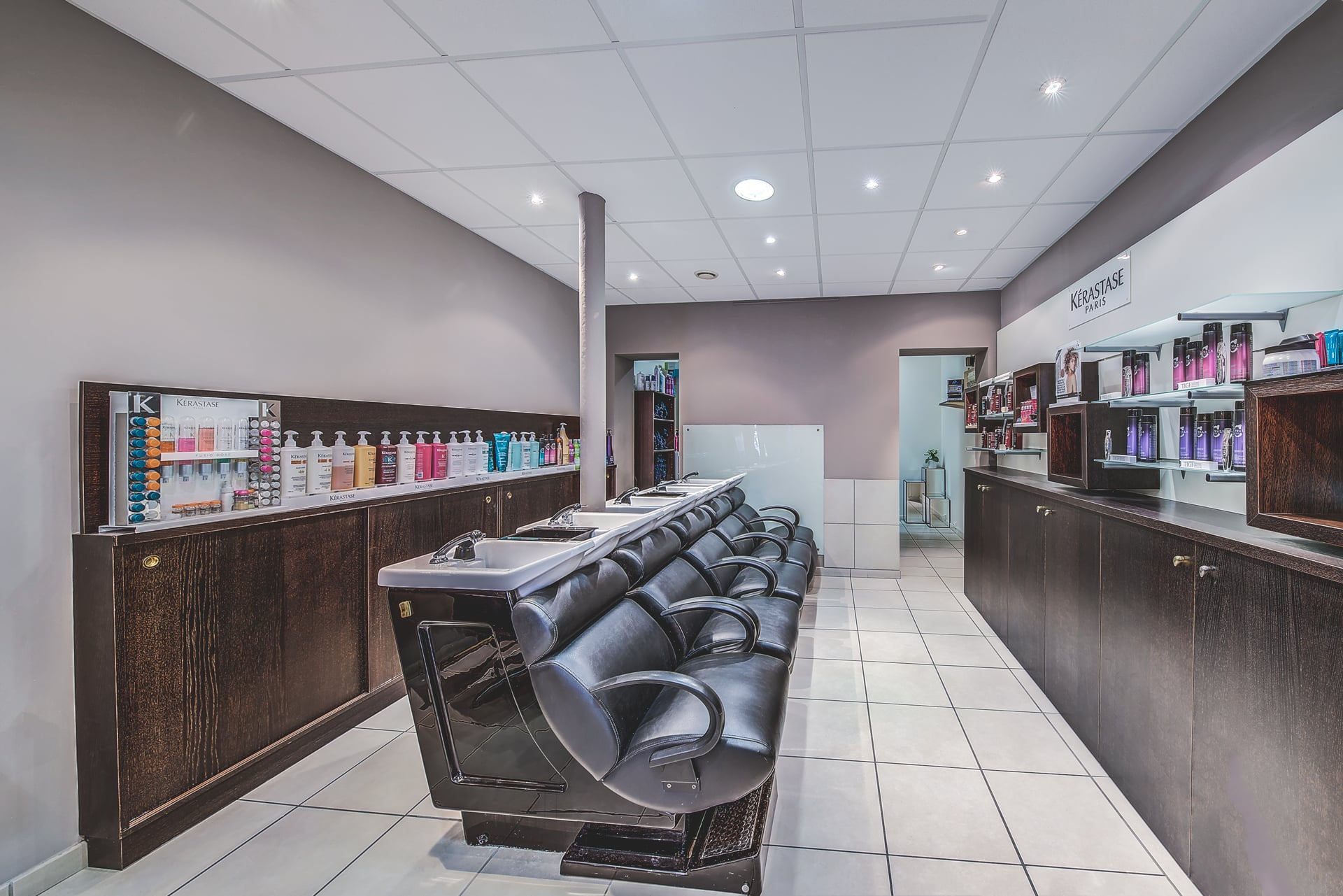 salon de coiffure l'oreal Reims
